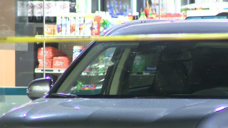 Man shot multiple times while trying to steal couple's SUV at gas station, police say