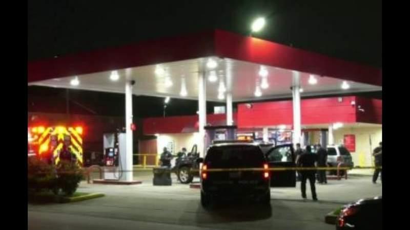 Man shot and killed while pumping gas