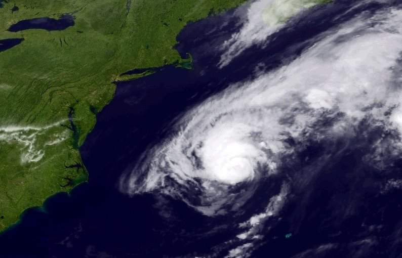 2014 Hurricane Cristobal courtesy NOAA