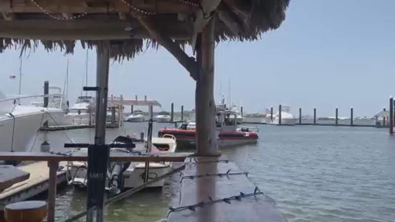 Police: Man drowns after falling from a boat at a Galveston marina