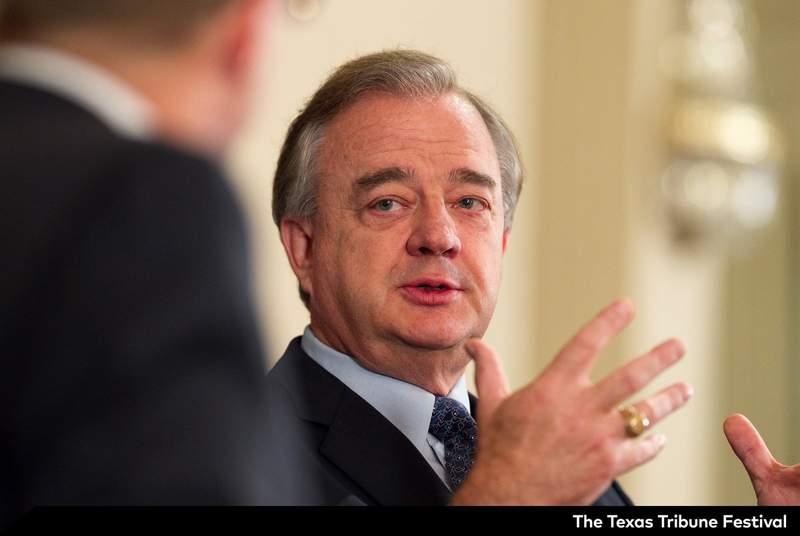 Chancellor of The Texas A&M University System John Sharp.