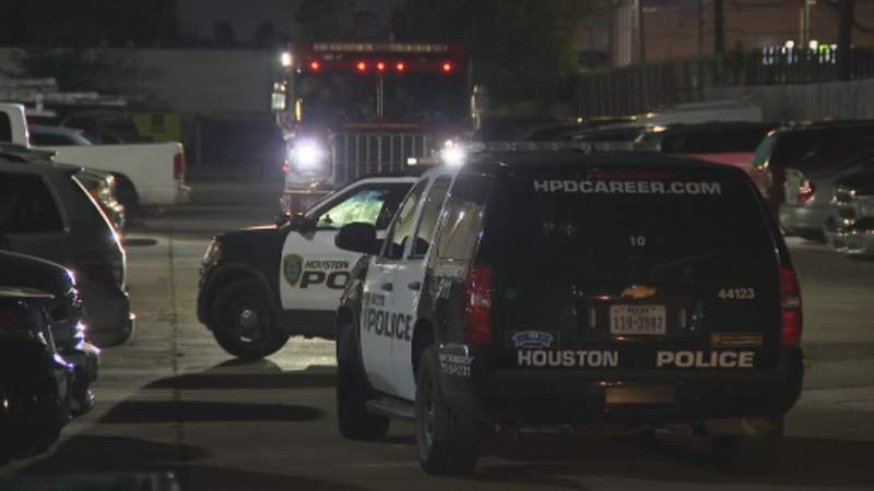 Houston police are investigating after a child was hit by a vehicle in southwest Houston, officials said Tuesday.