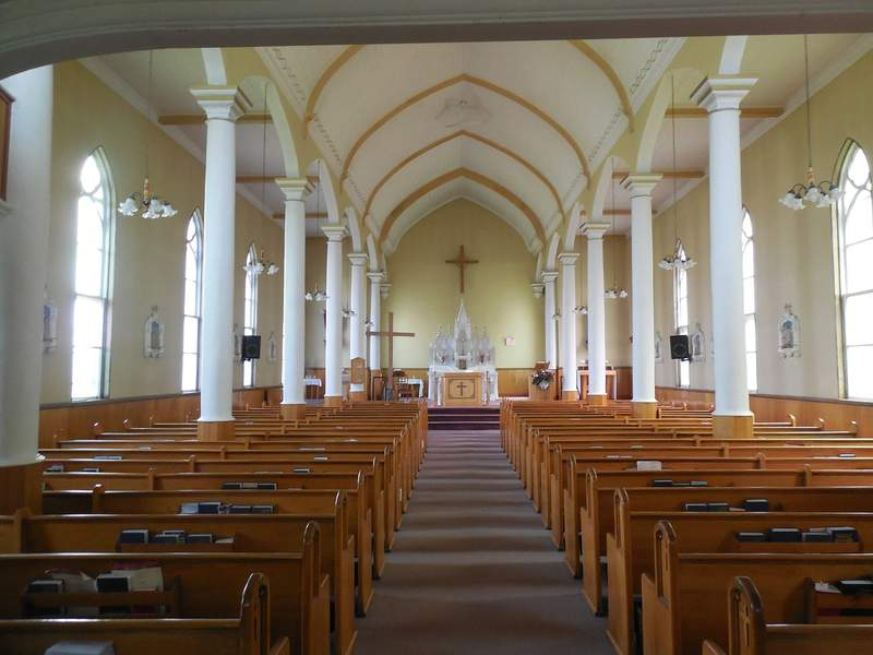 Stock image of a church.
