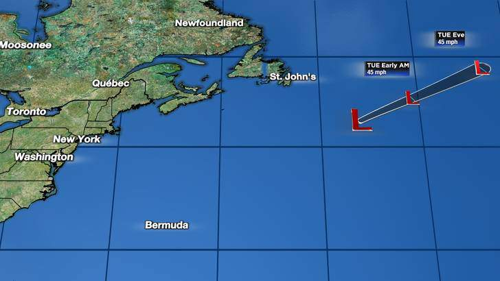 Forecast Cone image updated at 03:34 PM