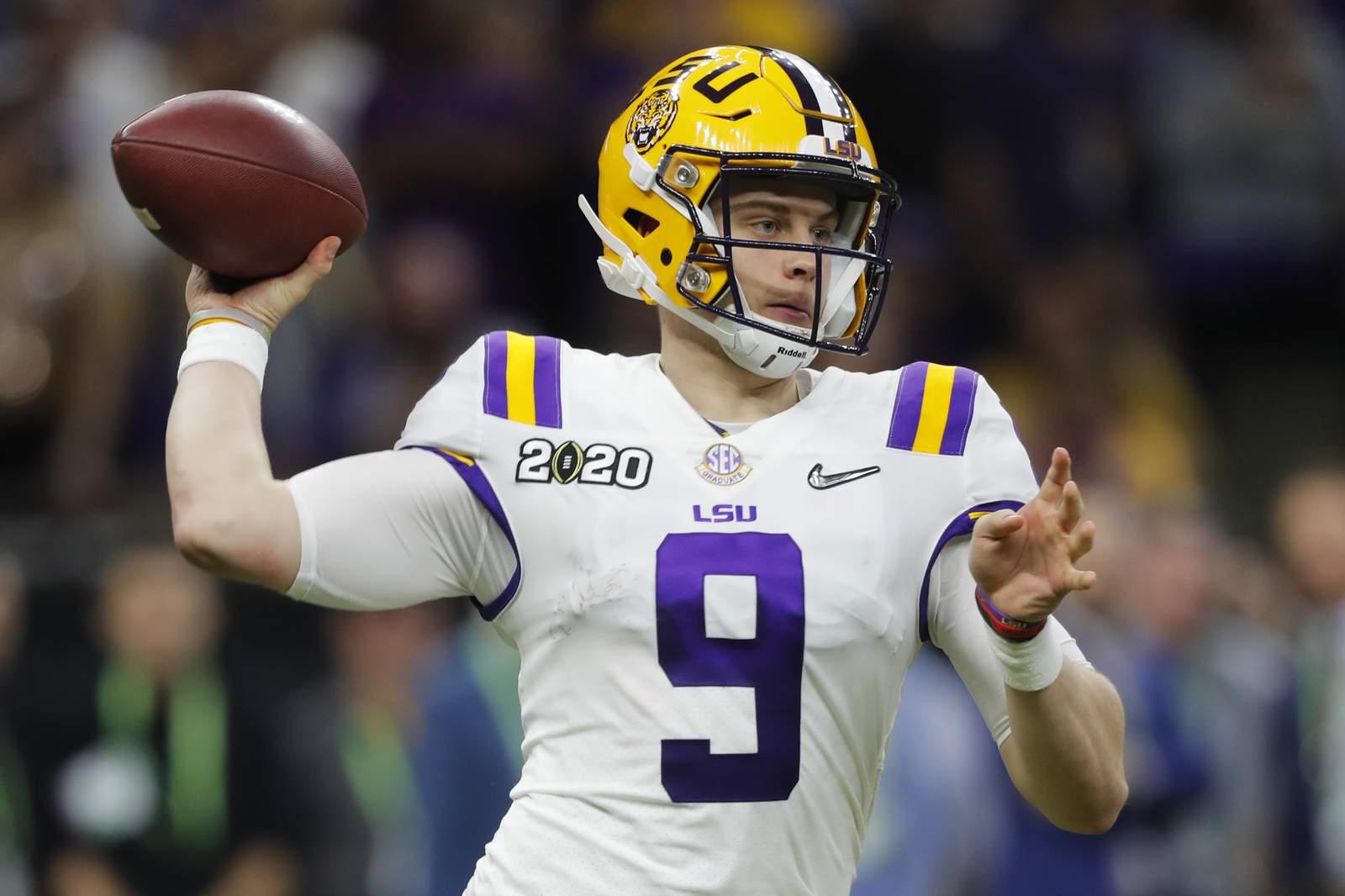La NFL tendrá 58 prospectos participando remotamente en el draft 1