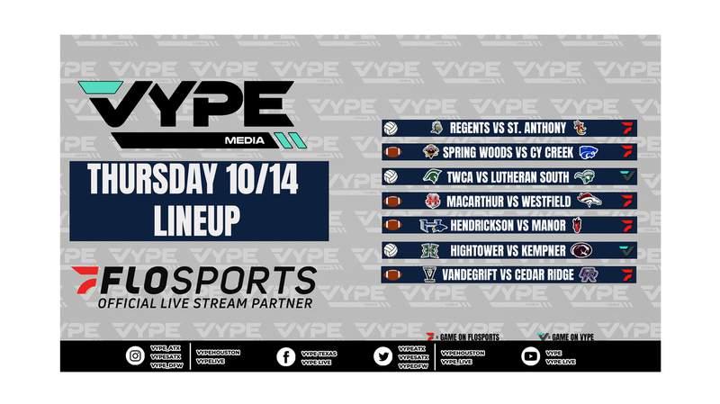 VYPE Live Lineup - 10/14/21