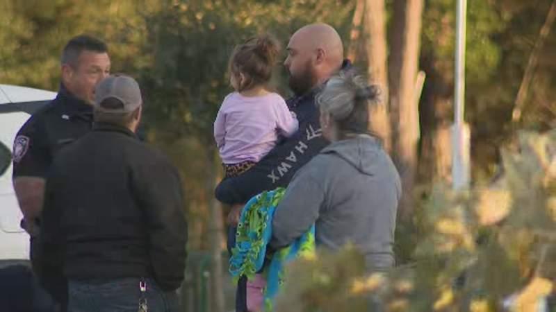 Child safe after car was stolen with girl inside