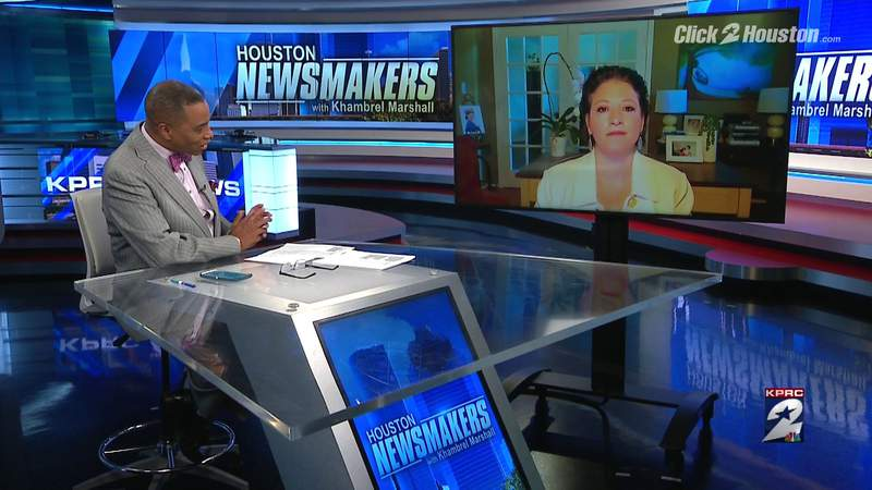 Newsmakers Extra: Claudia Aguirre