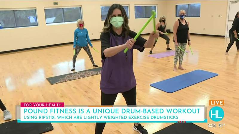 Turn your workout into a concert with a POUND fitness drumming-based class   HOUSTON LIFE   KPRC 2