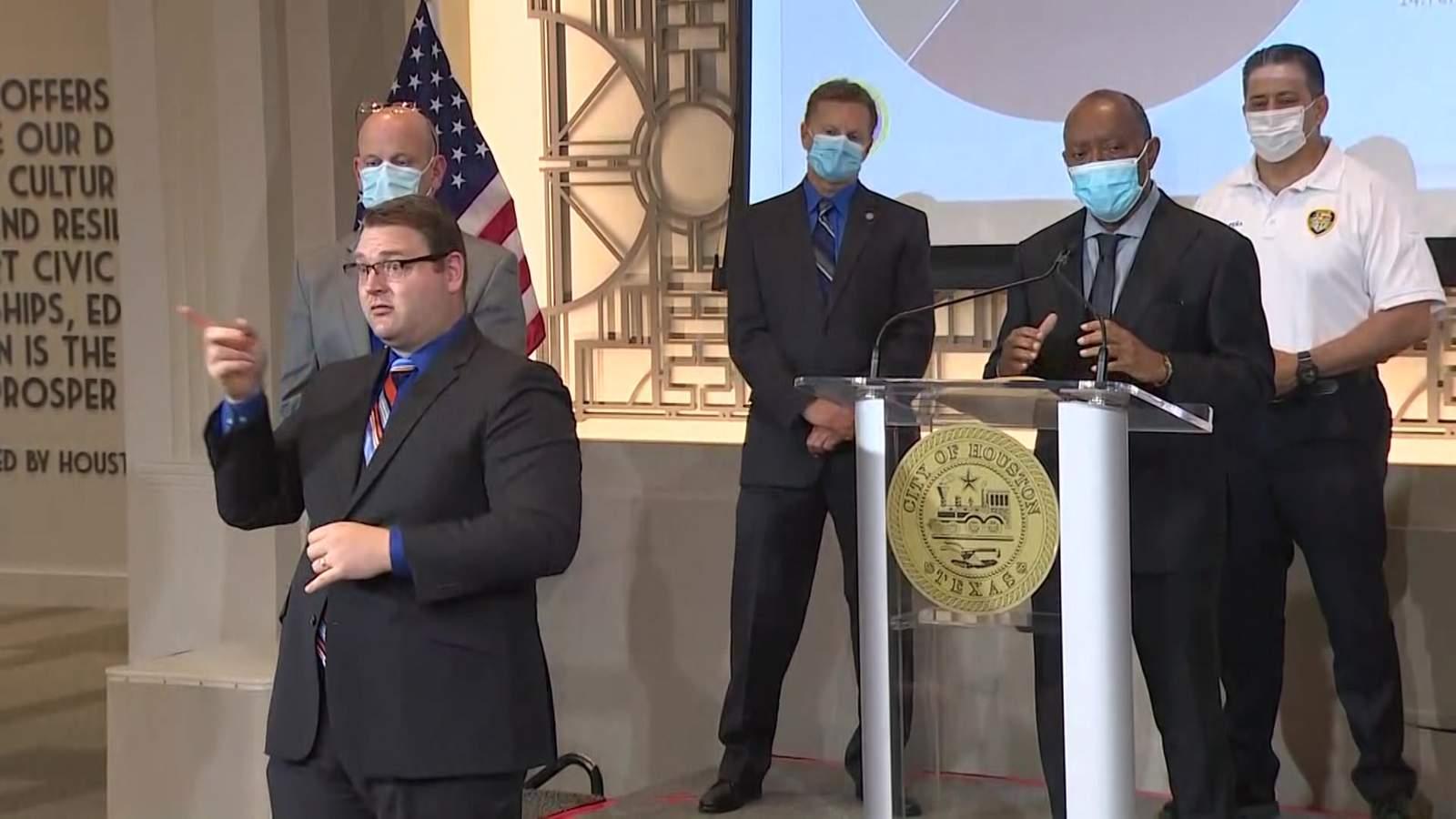 Houston realiza el mayor salto de 1 día en casos de coronavirus con 615 nuevos pacientes reportados el jueves 2