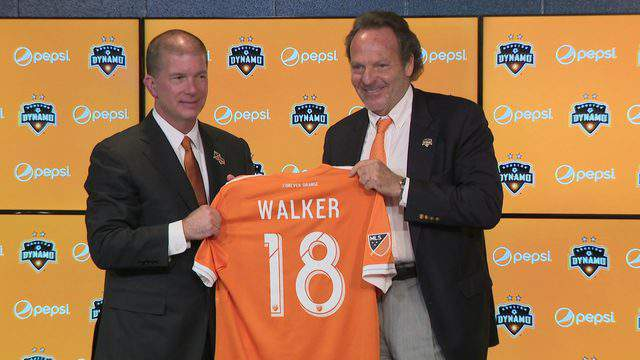 The Houston Dynamo and Dash named John Walker the new President of Business Operations on Nov. 1, 2018.