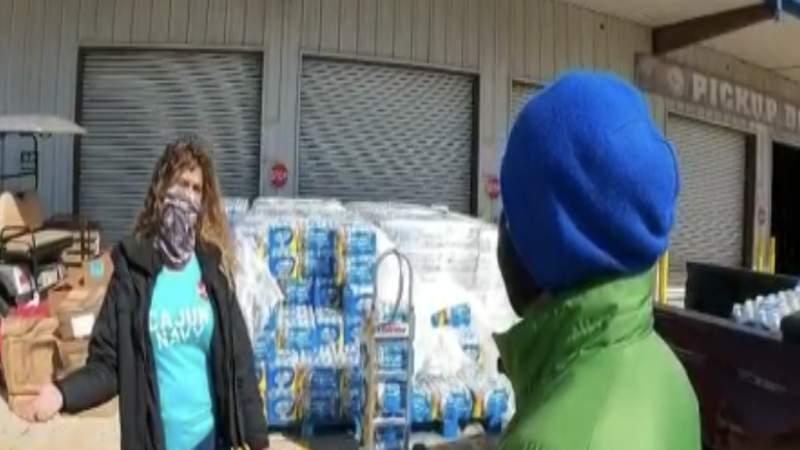 Cajun Navy helping winter storm victims