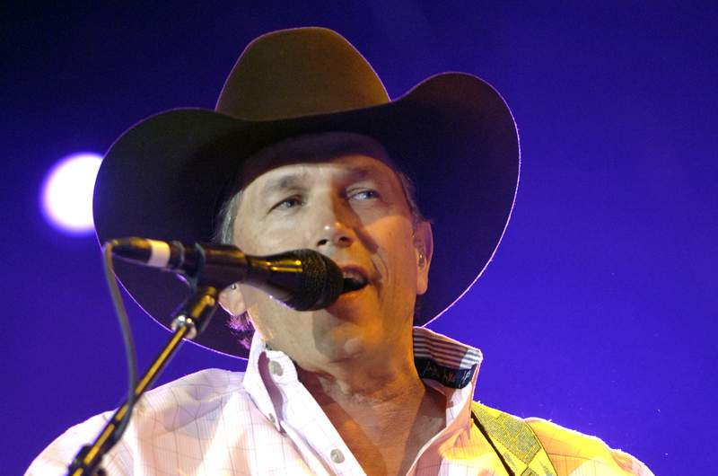 George Strait performs during the Stagecoach music festival at the Empire Polo Fields on May 5, 2007 in Indio, California. (Photo by Tim Mosenfelder/Getty Images)