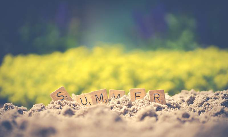 Summer has arrived!