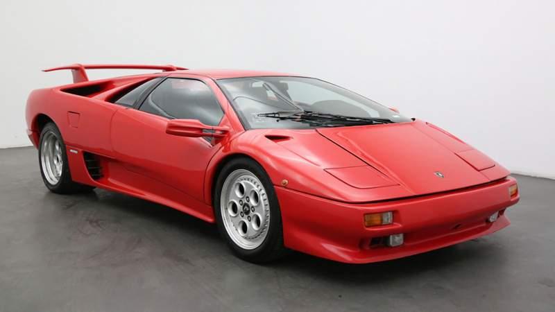 The European Spec 1992 Lamborghini Diablo.