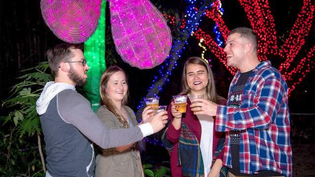 Photo: Houston Zoo - Brew Lights event via Facebook