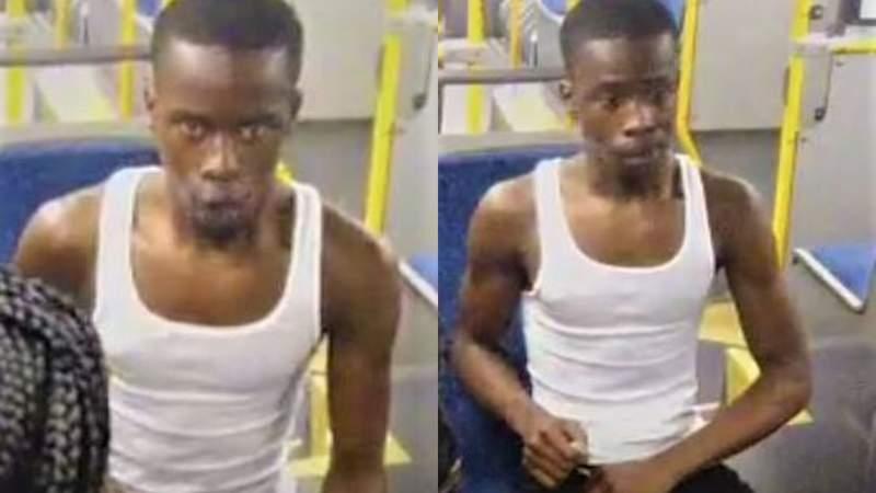 METRO police seek suspect accused of splashing urine on public servant