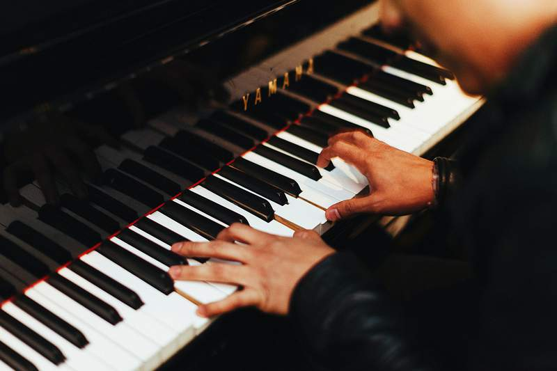 Learn how to navigate a keyboard, start playing music, and eventually master the craft.