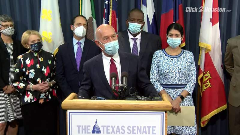 Texas Senate Democrats come together, update Texans on voting rights protections