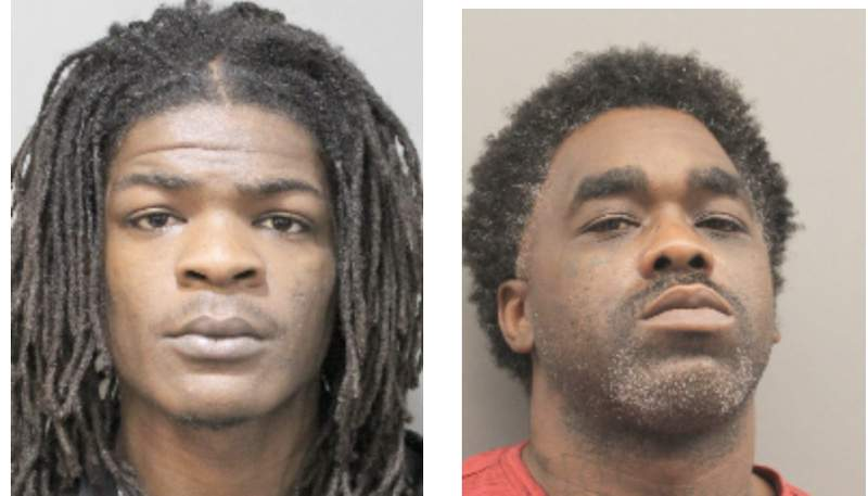 Harold Joiner, 22, has been charged with possession of a weapon and 34-year-old Robert Stevenson was charged with aggravated assault with a deadly weapon and felon in possession of a weapon.