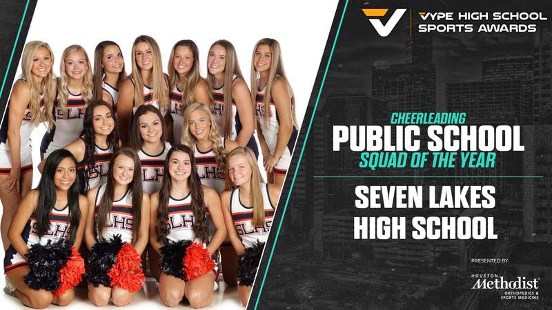 2021 VYPE Awards: Cheer Squad of the Year - Seven Lakes