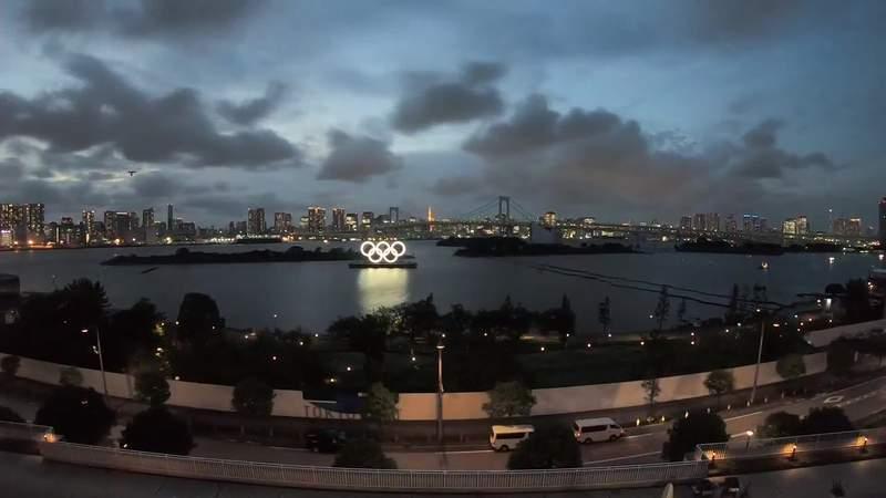 Tokyo Sunset Timelapse - July 29, 2021