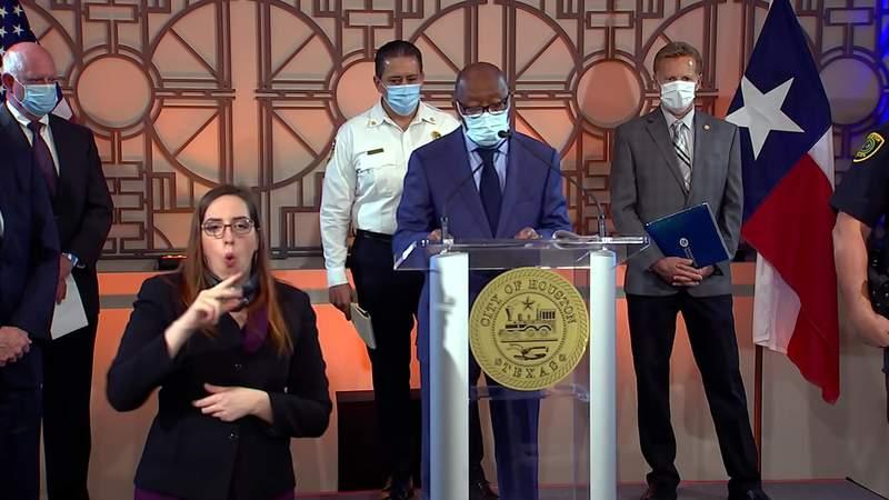 Mayor Turner gives coronavirus update on April 27, 2020