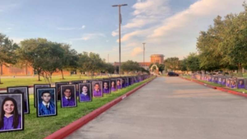 Klein, Barbers Hill and Needville ISD send off students in a 'big' way