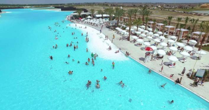 12-acre Crystal Lagoon is located within the Lago Mar master-planned community in Texas City.