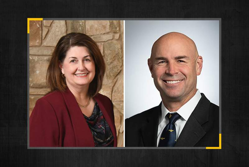 Susan Wright and Jake Ellzey are both Republican candidates for Texas' 6th Congressional district seat.