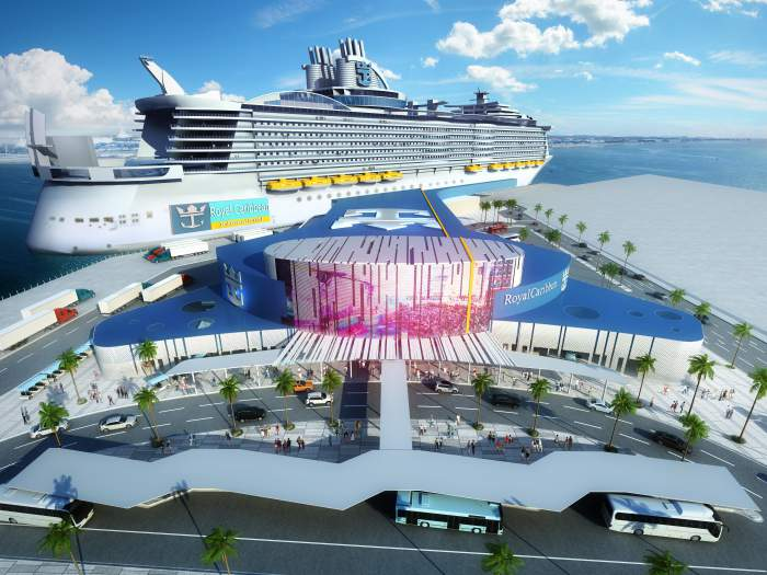 Royal Caribbean Cruises Ltd. and the Port of Galveston, the fourth most active cruise port in North America, have signed a long-term contract for a new $100 million cruise terminal slated to debut in October 2022.