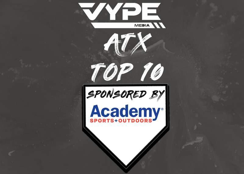 VYPE Austin Baseball and Softball Rankings - Week of 3.29.21