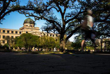 The Academic Building on the Texas A&M University campus on March 26, 2018.      Shelby Knowles for The Texas Tribune