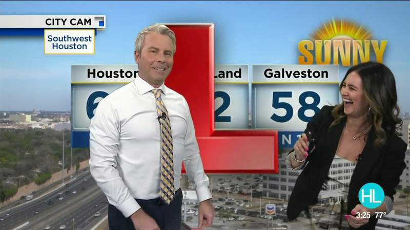 KPRC 2 Meteorologist Justin Stapleton takes us behind the green screen for National Weatherperson's Day | HOUSTON LIFE | KPRC 2