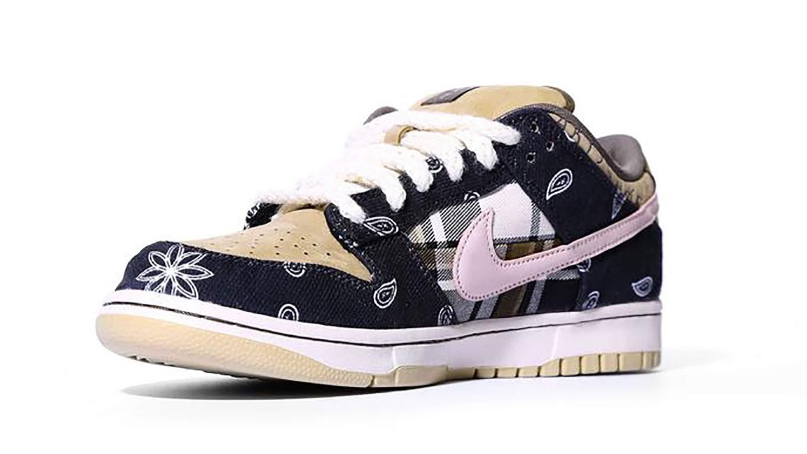 Newly released Nike sneakers designed by Travis Scott ...