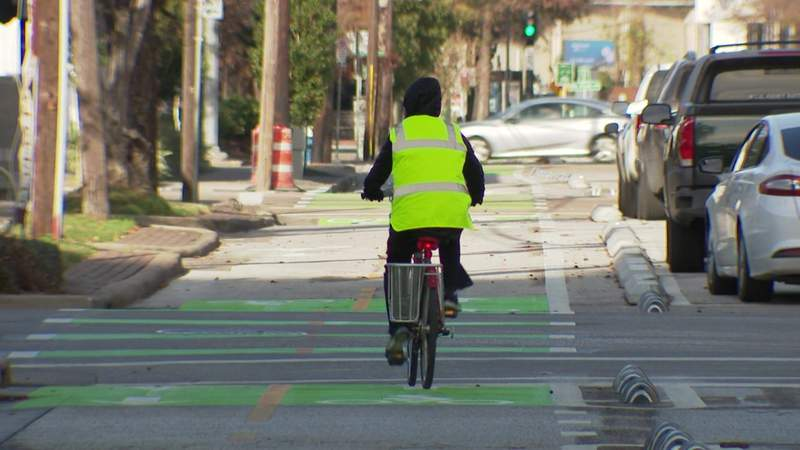 Texas A&M technology being used to make Houston better for walkers, bikers