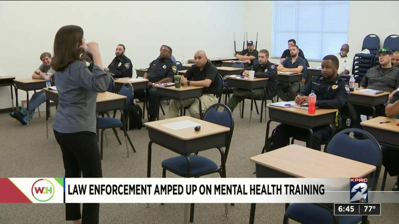 Law enforcement amped up on mental health training
