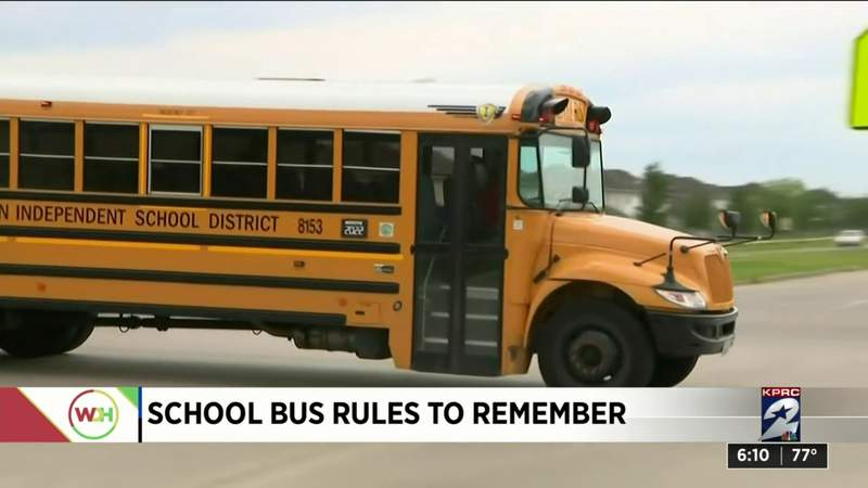 School bus rules to remember
