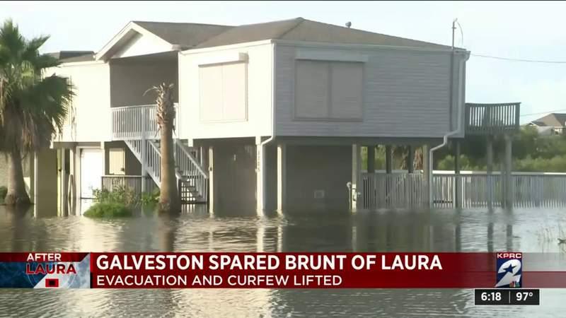 Residents return to Galveston after evacuation