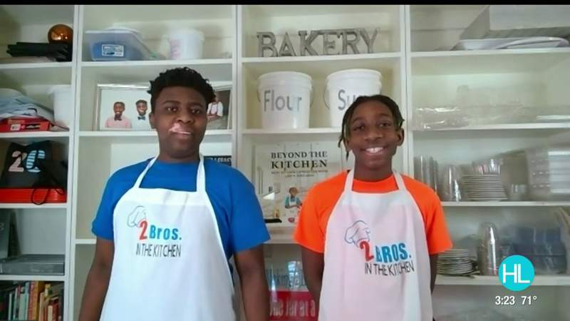 Missouri City brothers give back to teachers with a sweet project | HOUSTON LIFE | KPRC 2
