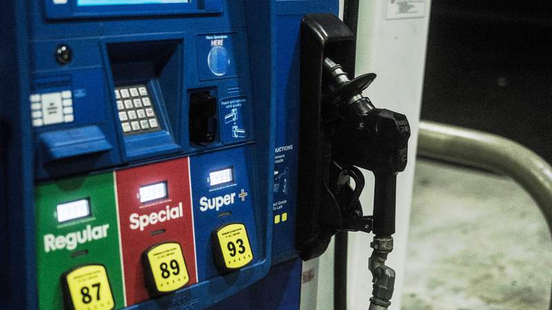 Prices at the pump.