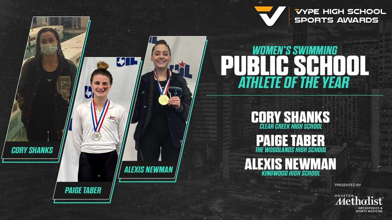 2021 VYPE Awards: Public School Women's Swimmer of the Year Finalists