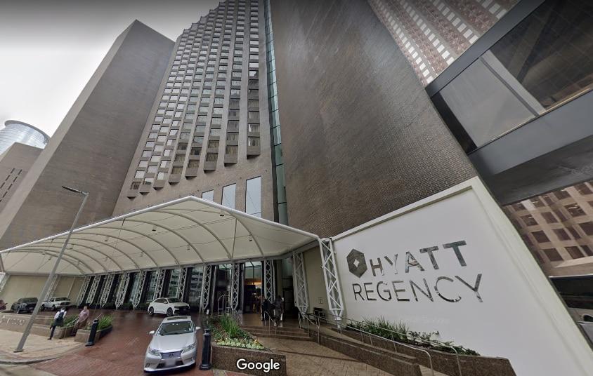 Hyatt Regency Houston is the city's tallest hotel.