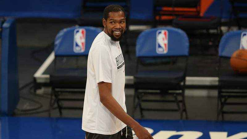 Kevin Durant and Damian Lillard headline the U.S. Olympic men's basketball roster for Tokyo.