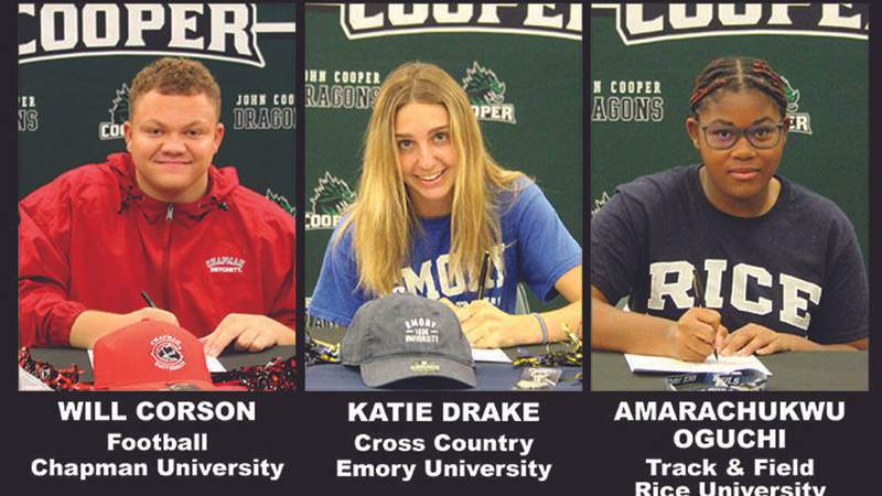 Three More Dragons Commit To Compete In April Signing Ceremonies