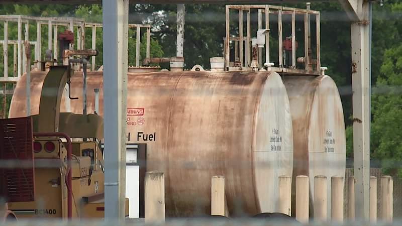 Underground fuel tank concerns