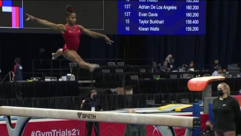 7 Houston-area athletes complete in U.S. Gymnastics Olympic Trails