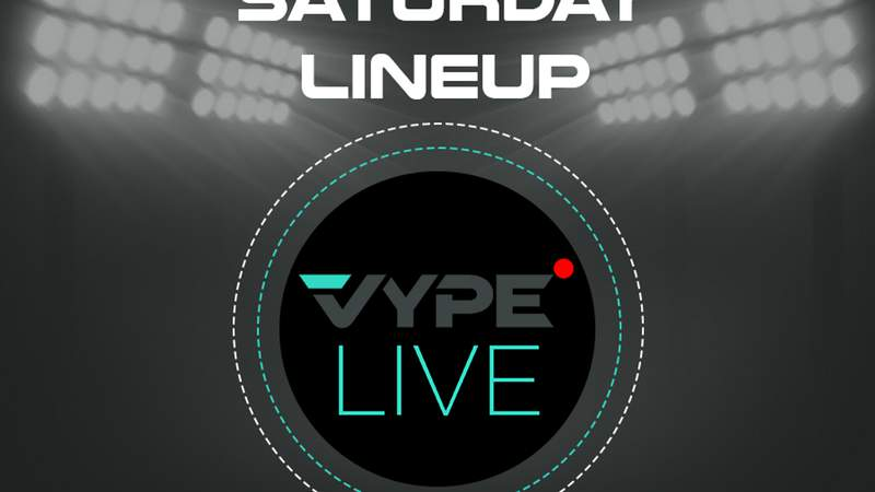 VYPE Live Lineup - Saturday 2/6/21