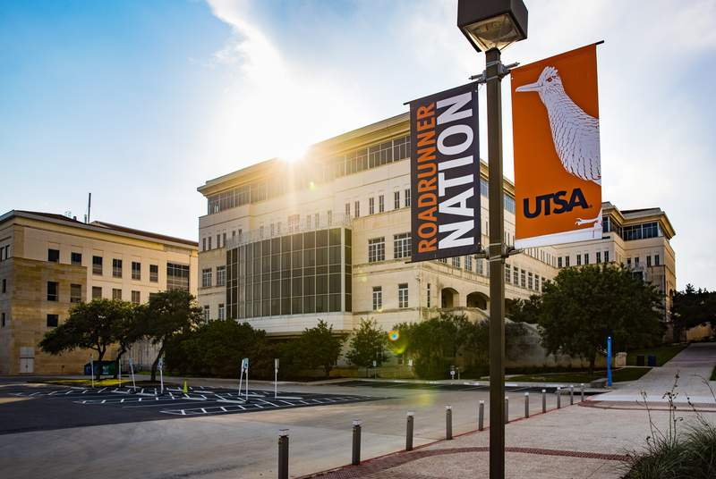 The main campus of the University of Texas at San Antonio on June 15, 2021.