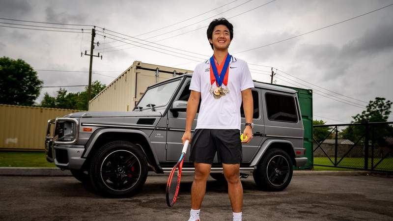 Lutheran South Academy Magazine: Cheung Wins Doubles State Title